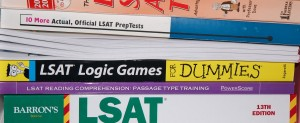 LSAT practice books